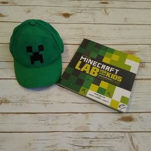 Minecraft Lab For Kids Book and Hat